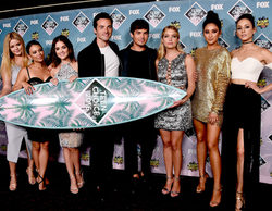 Las 'Pretty Little Liars', imbatibles un año más en los Teen Choice Awards
