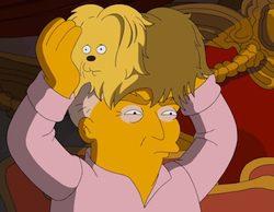 'Los Simpson' se meten con Donald Trump y apoyan a Hillary Clinton