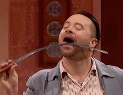 Un grave error en 'America's Got Talent' termina con una flecha en llamas en el pecho del concursante