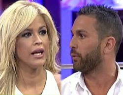 Ylenia y Jordi Martín mantienen una gran discusión en el plató de 'Hable con ellas'