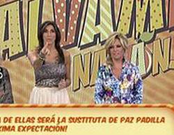 Lydia Lozano sustituye a Paz Padilla como presentadora de 'Sálvame Diario'