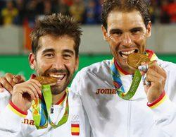 Nadal y Marc López se hacen con el oro frente a más de 1,3 millones de espectadores (21,5%)