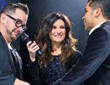 """Laura Pausini hace un guiño al programa 'Sorpresa Sorpresa' """"casando"""" a una pareja gay en uno de sus conciertos"""