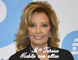 """María Teresa Campos: """"Sin duda ninguna, prefiero hacer debate político"""""""