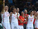El pase a la final del baloncesto femenino español en Río 2016 logra más de 1 millón en Teledeporte