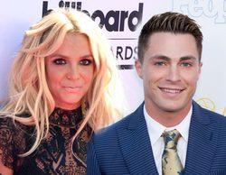 Britney Spears saca al escenario a Colton Haynes ('Arrow') sin saber que es un conocido actor