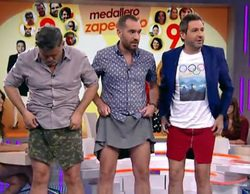 Frank Blanco presenta 'Zapeando' con minifalda y tacones
