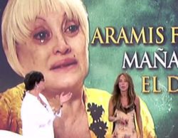 Aramís Fuster reaparece en 'Sálvame' en un estado lamentable