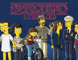 """'Stranger Things': Así es la versión """"simpsonizada"""" de la nueva serie de culto de Netflix"""