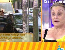 Telecinco desmonta el patético show de Aramís Fuster en 'Sálvame'