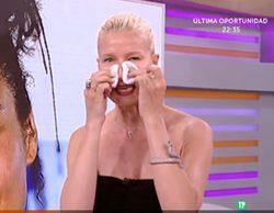 Anne Igartiburu se suma a la campaña de Alicia Keys desmaquillándose en directo en 'Corazón'