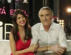 Primeras imágenes de Ares Teixidó con Juan y Medio en 'El amor está en el aire'