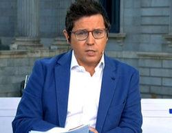 Las obras en los platós obligan a Sergio Martín a realizar fuera 'Los desayunos de TVE'