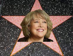 Kathy Bates ('American Horror Story'), consigue una estrella en el Paseo de la Fama de Hollywood