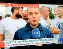 """Julio """"el Feroz"""" ('GH 12') se manifiesta en 'La mañana de la 1' en contra del Toro de la Vega"""