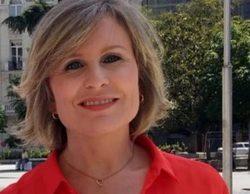 María Rey pierde una lentilla en directo durante el informativo de 'Antena 3 Noticias 1'
