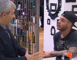 Adrián Rodríguez se cuela en la barra de 'First Dates' para sorprender a una fan