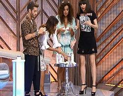 Los estilistas de 'Cámbiame' se desmaquillan en directo y muestran su cara más natural