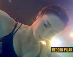 Pilar Rubio lleva su cuerpo al límite y consigue superar su marca de apnea en 'El hormiguero'