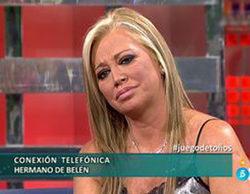 El hermano de Belén Esteban entra, por primera vez, en 'Sálvame Deluxe' para aclarar su relación con Toño