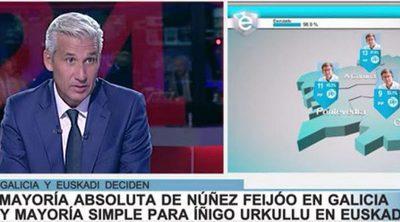 Víctor Arribas convierte 'La noche en 24 Horas' en Tele-Feijóo: el único discurso que se emitió íntegramente