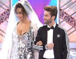 Cristina Rodríguez y Pelayo Díaz se casan en 'Cámbiame' con Natalia como maestra de ceremonias
