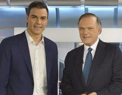 Pedro Piqueras entrevista este 28 de septiembre a Pedro Sánchez en 'Informativos Telecinco'