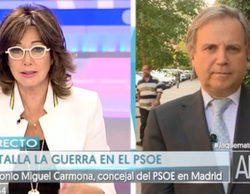 La TDT se convierte en Tele-Carmona: el diputado conecta con todas las cadenas para atacar a Pedro Sánchez