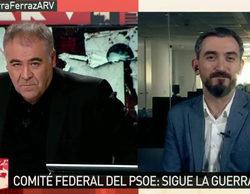 laSexta, colíder gracias a su cobertura de la crisis del PSOE de 'Al rojo vivo' (19,6%) y 'laSexta noche'