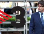 TV3 convierte sus informativos en Tele-Puigdemont: dobla en tiempo a todos sus rivales parlamentarios
