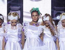 Así ha sido la explosiva actuación de Cristina Pedroche como Jennifer López en la primera gala de 'Tu cara me suena'