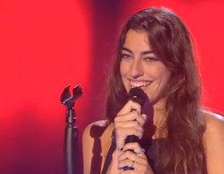 'La Voz': Claudia, hija de Raquel Revuelta, sorprende en la última gala de las audiciones a ciegas