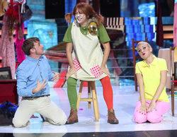 'Tu cara me suena': Yolanda Ramos hace llorar a Lolita Flores con su actuación como Pipi Calzaslargas