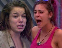 Bronca lacrimógena entre Bea y Meritxell tras tirarse la ropa al suelo en 'Gran Hermano'
