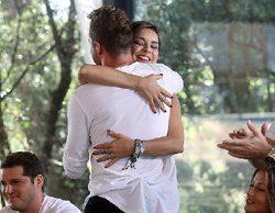 """Bisbal abraza a Chenoa ('OT. El reencuentro'): """"La gente se piensa que estaba mal con Laura y no es cierto"""""""