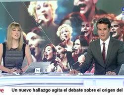 """El Telediario de TVE dedica más tiempo a 'OT. El reencuentro' que al caso Gürtel y a las """"black"""" juntos"""