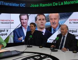 """Nuevo dardo de Vicente del Bosque a Josep Pedrerol en """"El Transistor"""" de José Ramón De la Morena"""