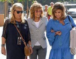 Mª Teresa Campos y Terelu, pilladas en Málaga durante el rodaje de su reality 'Las Campos'