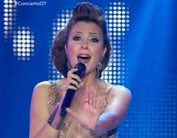 Gisela llora y se emociona tanto en el concierto de 'OT. El Reencuentro' que se olvida de presentar