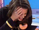 Adriana Torrebejano acaba en el suelo tras un zapatazo de Adriana Abenia en 'Pasapalabra'