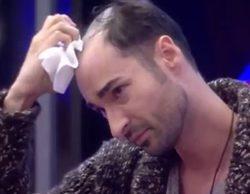 """Miguel ('GH 17') se quita el peluquín ante sus compañeros: """"No quería que me rechazarais"""""""