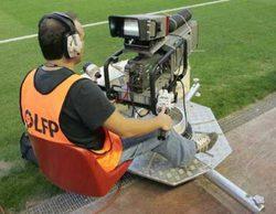 La Liga, multada con 250.000 euros por no permitir la entrada a Mediaset a los campos