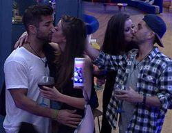 'Gran Hermano 17': Simona se suelta la melena y besa a Alain y Rodrigo