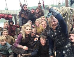 Los protagonistas de 'Vikings' muestran cómo está siendo el rodaje de la quinta temporada