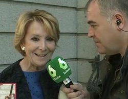"""Ferreras a Aguirre: """"Ya sé que a usted le gusta ser más importante que Rajoy"""""""
