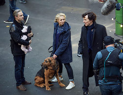 'Sherlock': Se desvelan las primeras imágenes de Watson y Mary con su hija