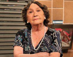 'La que se avecina' rodó la muerte de Justi tres días antes del fallecimiento de Amparo Valle
