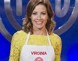 Virginia Troconis, última expulsada de 'MasterChef Celebrity' a las puertas de la final