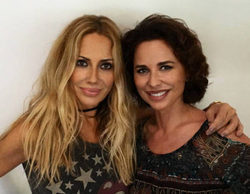 '¡Qué tiempo tan feliz!' reúne por primera vez en un plató de televisión a Marta Sánchez y Vicky Larraz