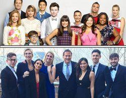 Los actores de 'Glee' se reencuentran en la boda de Becca Tobin